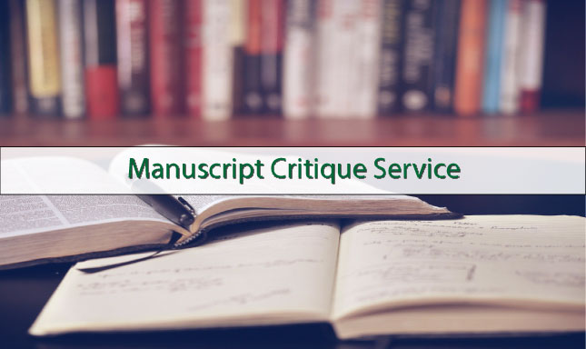 Have Your Manuscript Critiqued