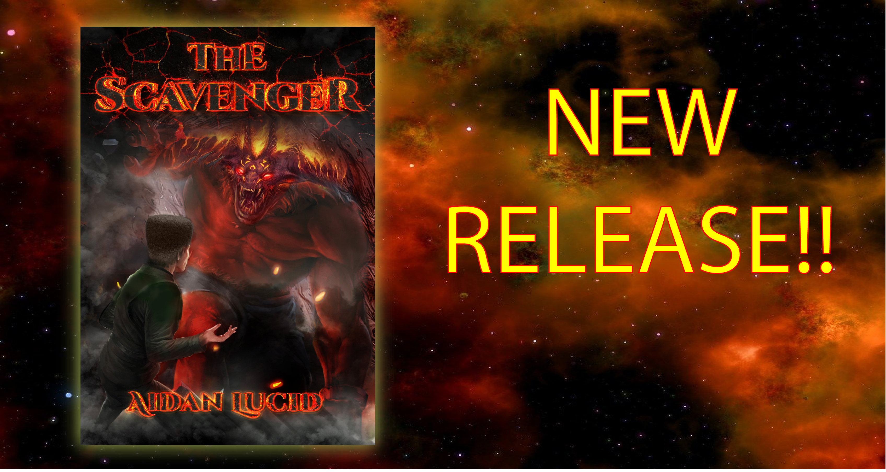 "New Release - A Spine-Tingling Horror Novella, ""The Scavenger""."